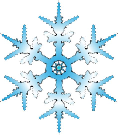 clipart neve free snowflake clip