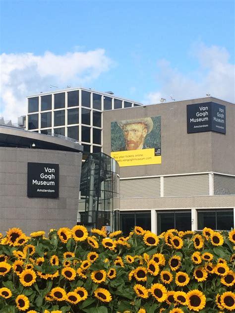 museum day amsterdam visit to van gogh museum amsterdam netherlands