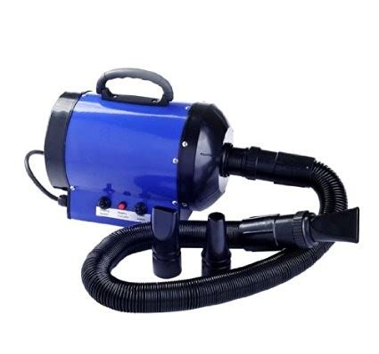 Hair Dryer Grooming pawhut pet hair dryer for grooming 2800w blue ideal