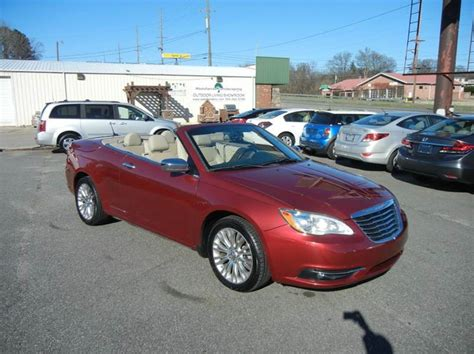 2012 Chrysler 200 Mpg by 2012 Chrysler 200 Convertible Limited 2dr Convertible In