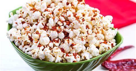 resep  membuat popcorn pedas enak  sederhana