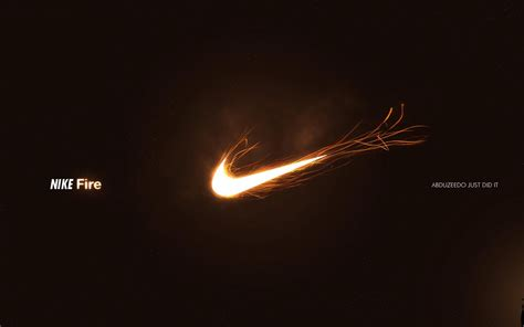 nike fire brand advertising wallpaper preview