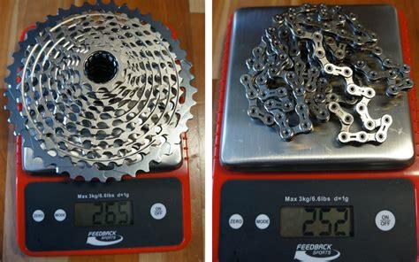 xx1 cassette sram xx1 component actual weights bikerumor