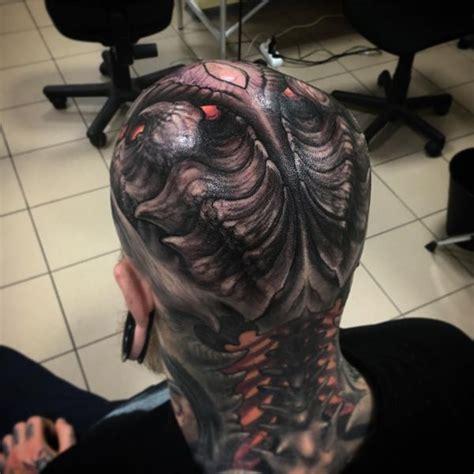 biomechanical predator tattoo biomechanical tattoos designs best ideas for you