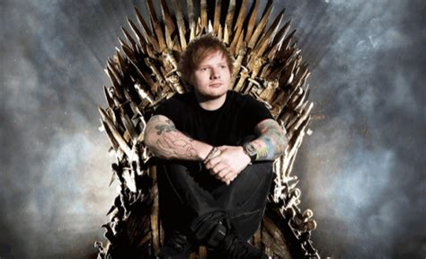 ed sheeran game of throne ed sheeran makes appearance in game of thrones premiere