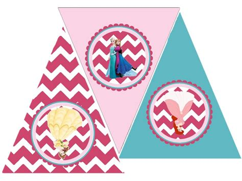 printable happy birthday banner princess princess party free printable