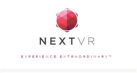 nextvr virtual reality digital cinema camera system for