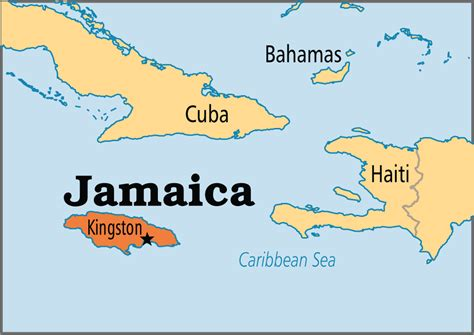 map world jamaica jamaica operation world