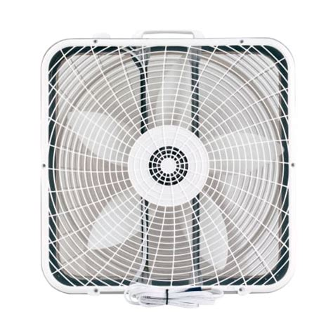 high cfm box fan air king 9723 20 quot 2220 cfm 3 speed commercial grade box