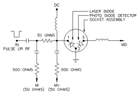 laser diode driver monitor photodiode an 2a general applications information