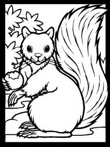 squirrel coloring pages squirrels coloring pages