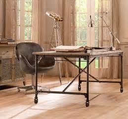 charming Restoration Hardware Flatiron Table #1: Restoration+Hardware+Flatiron+Desk.jpg