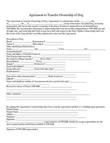 property transfer agreement template 10 best images of real estate transfer agreement real