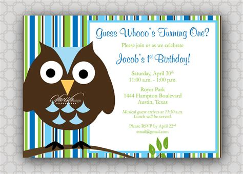printable first birthday owl invitations 301 moved permanently