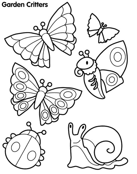 coloring pictures of butterflies and ladybugs ladybug and butterfly colouring pages page 2 az