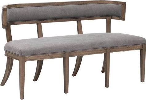 padded benches with backs 1000 ideas about upholstered dining bench on pinterest