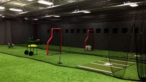 Home Plate Batting Center by Image Gallery Indoor Batting Cages