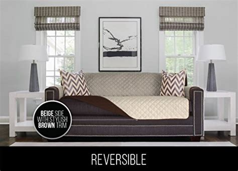 sofa shield reversible furniture protector the original sofa shield reversible couch slipcover