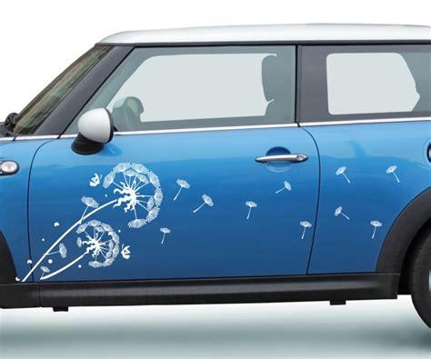 Aufkleber F R Auto Seite by 2x Autoaufkleber Pusteblume L 246 Wenzahn Ranke Blume Auto