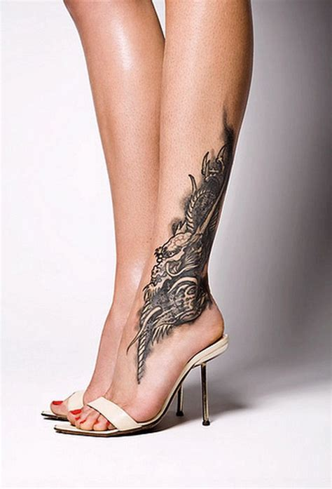 ankle tattoos are they worth the