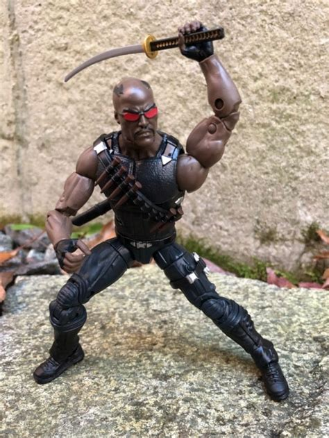 Blade Marvel Legends Hasbro Figure marvel legends blade figure review photos thing series marvel news