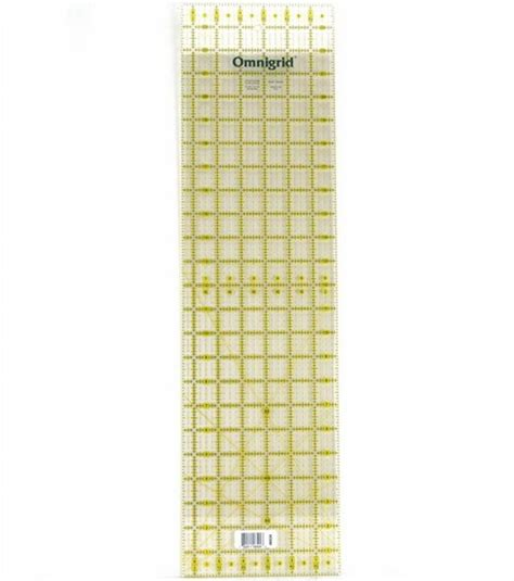 Quilt Ruler by Omnigrid Quilting Ruler 6 1 2 X24 Jo