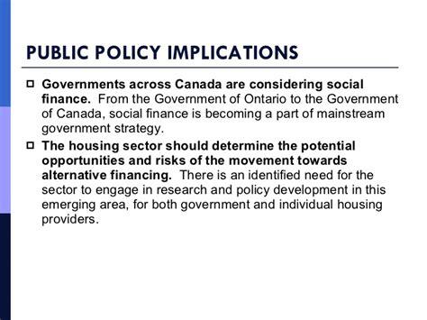 Social Finance social finance for social housing