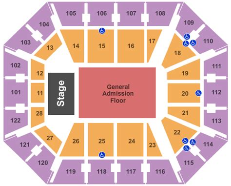 mohegan sun arena floor plan connecticut concert tickets seating chart mohegan sun