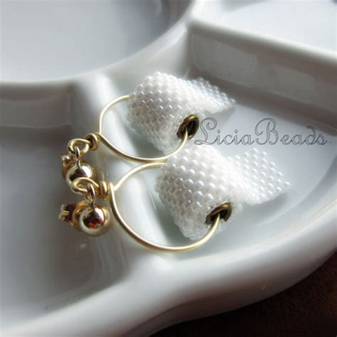 toilet paper earrings on 14k gold filled stud post earrings