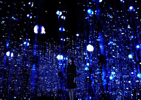 pace gallery teamlab infills pace gallery with 20 immersive digital