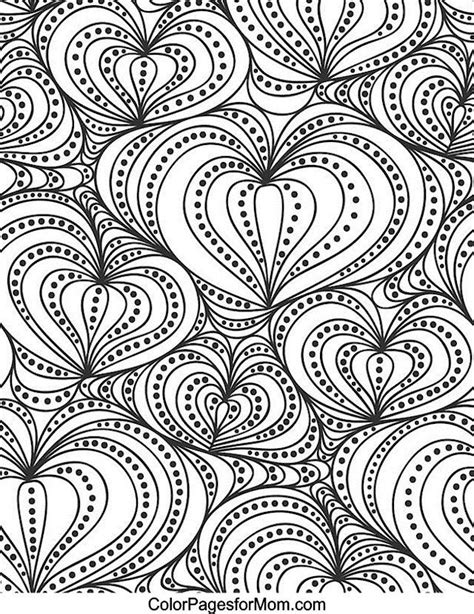 abstract coloring pages hearts coloring pages swirls az coloring pages