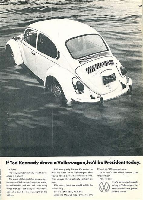 Chappaquiddick Vw Ad Was Reading About Chappaquiddick Page 2 Tigerdroppings