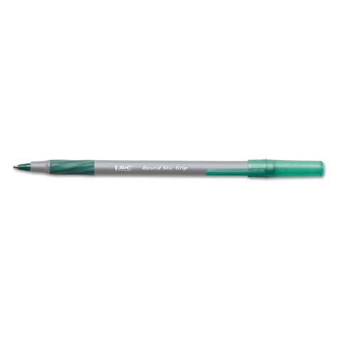 comfort stic bic gsmg11gn round stic grip xtra comfort ballpoint pen