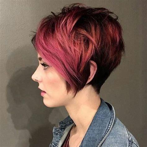 tendance coiffures courtes pour les cheveux epais