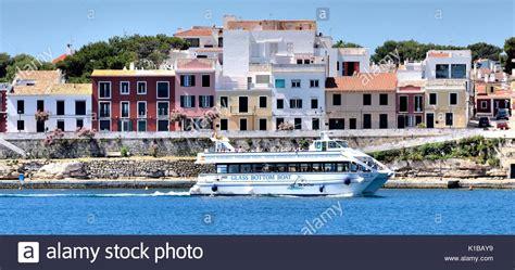 glass bottom boat menorca mahon glass bottomed boat stock photos glass bottomed boat