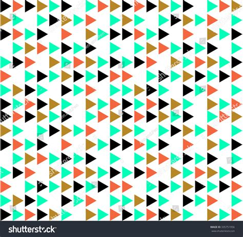 triangle pattern gift wrap triangle trigon gift wrap wrapping paper stock vector