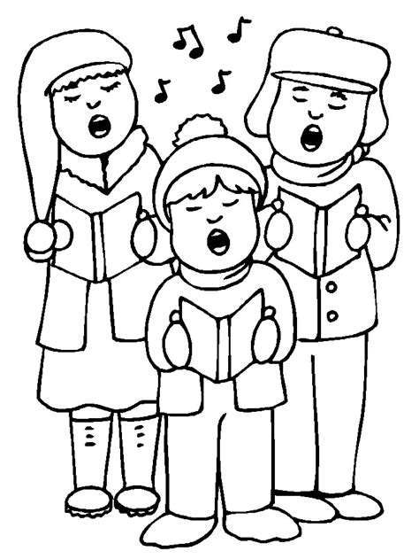 Singing Coloring Pages singing coloring pages coloringpages1001