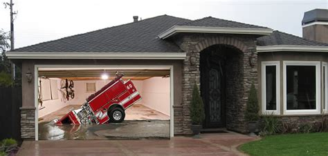 Custom Garage Designs emergency vehicles my screen design garage door picture