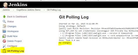 git tutorial login continuous integration in salesforce using jenkins and git