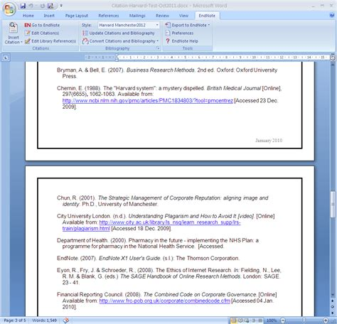 harvard style referencing template harvard business research plus