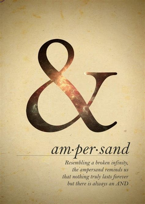 ampersand broken infinity interesting quote life cycle