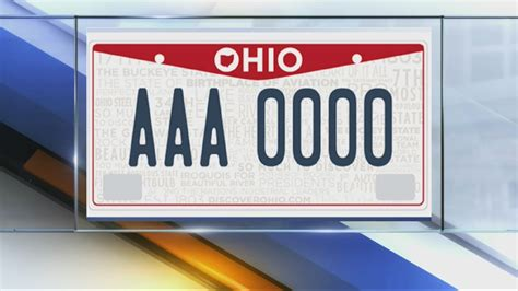 Ohio License Plate Sticker Placement