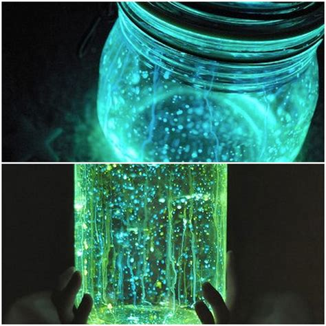 diy glow jars wedding decor diys glow in the jars 2 onewed