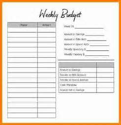 Weekly Budget Planner Template by Doc 554717 Weekly Budget Template Weekly Budget