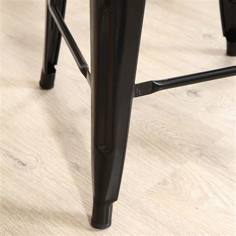 30 inch black metal bar stools set of 2 metal bar stool counter height home 24 quot 26 quot 30