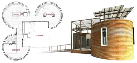 silo house plans 2009 solar decathelon tiny house design