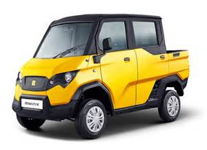 Electric Utility Vehicles In India Eicher Polaris Multix Has 3kw Electricity Generator At Its