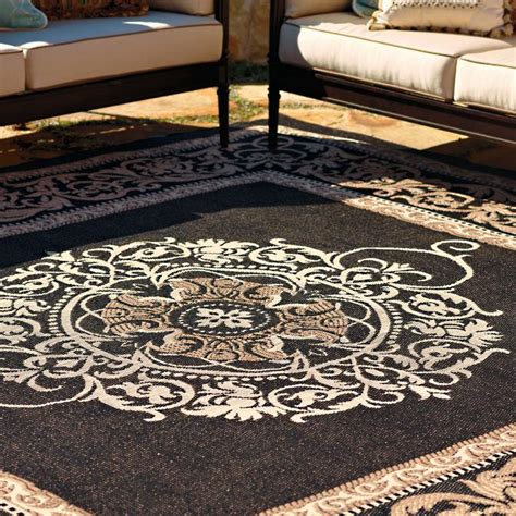 Medallion Outdoor Rug Frontgate Frontgate Indoor Outdoor Rugs