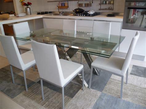 tavolo acciaio e vetro tavolo allungabile vetro e acciaio tavolo cucina