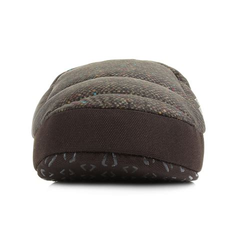 northface slippers mens the tent iii mule green multi insulated